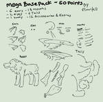 Wolf Mega Base Pack P2U by Flowfell