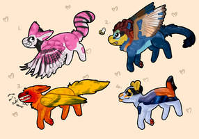 $1 SB Plush Puppies #2 AUCTION 4/4 [OPEN] by Flowfell