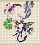AUCTION Plush Pets #19 4/4 [OPEN] by Flowfell