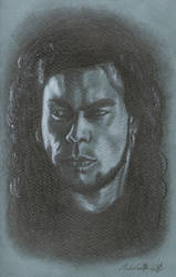 Long Haired Man by Helviriitta