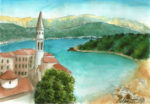 View of Budva