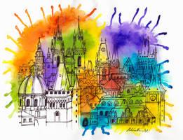 Colorful Prague