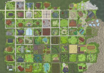 Map of the Secret Gardens