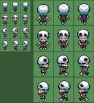 Pokemon SM Team Skull grunt (M) overworld sprite