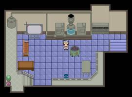 Pokemon anime Prof. Oak's lab Custom map