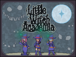 Little Witch Academia banner (Commission) by Zender1752