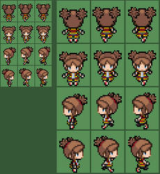 Pokemon Ranger SoA Kate Overworld sprite