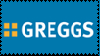Greggs stamp by BookyMoo