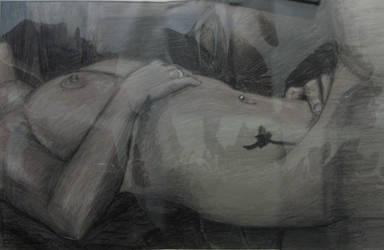 Artistic nude by EllriNidhogg