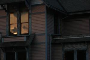 Darkened Home