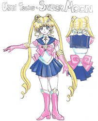 SAILOR MOON concept design by EricMor