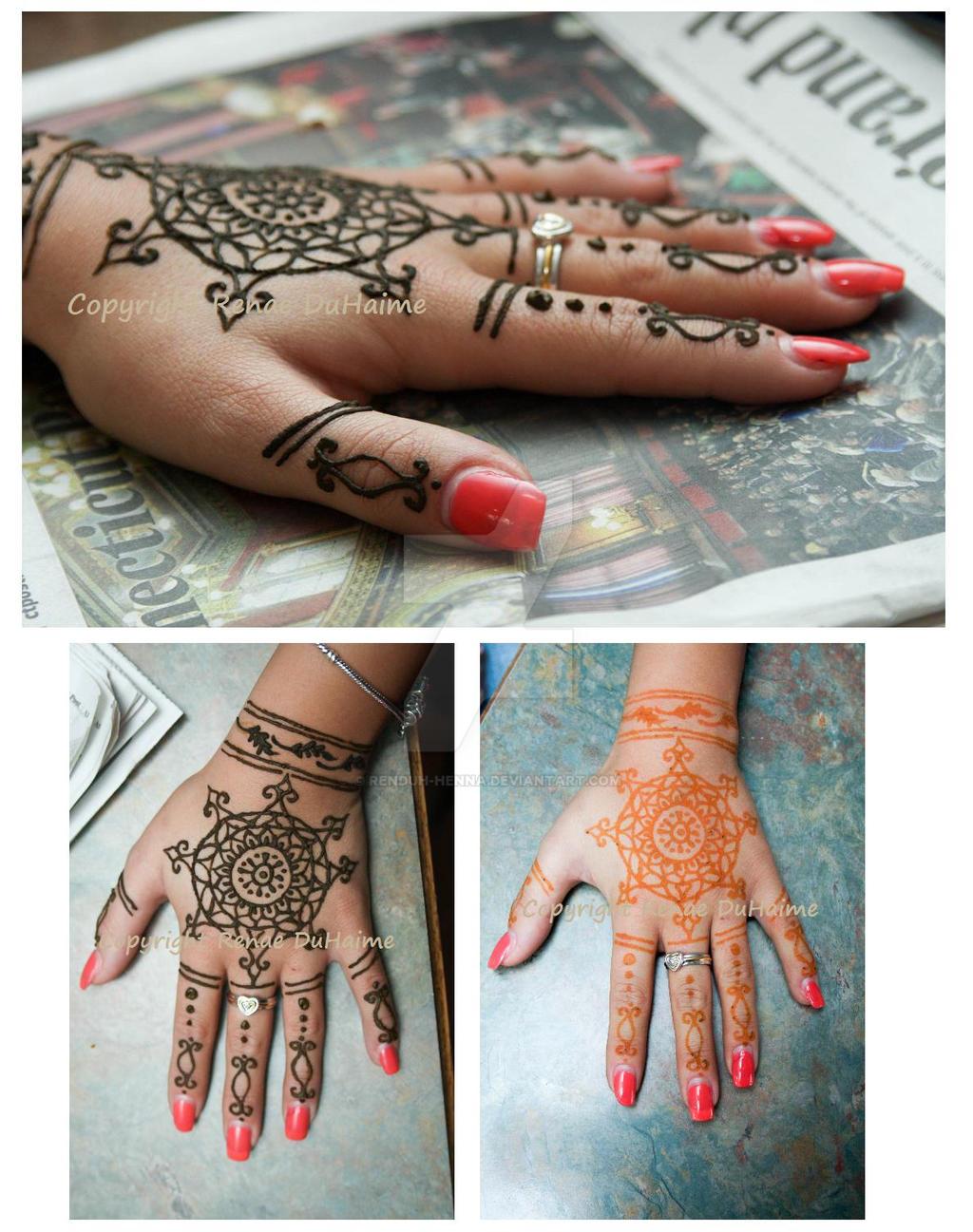 Semi-Original Hand Henna