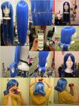 Juvia Wig Tutorial (Fairy Tail)