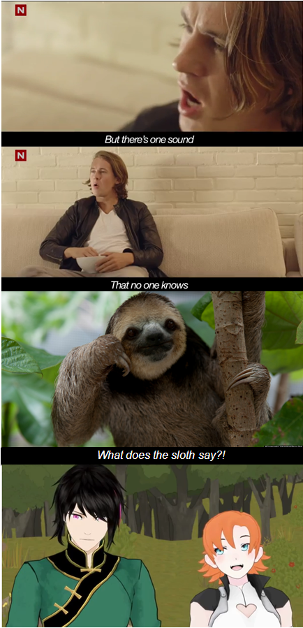 What DOES The Sloth Say? by Holly-Batali