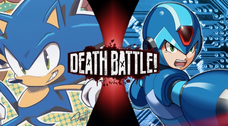 Sonic Vs X Death Battle The Fight 2 2 By Mastersword3710 On Deviantart