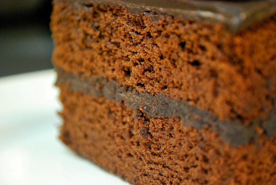 Double Dark Chocolate Cake 02 by DulcetEpicure