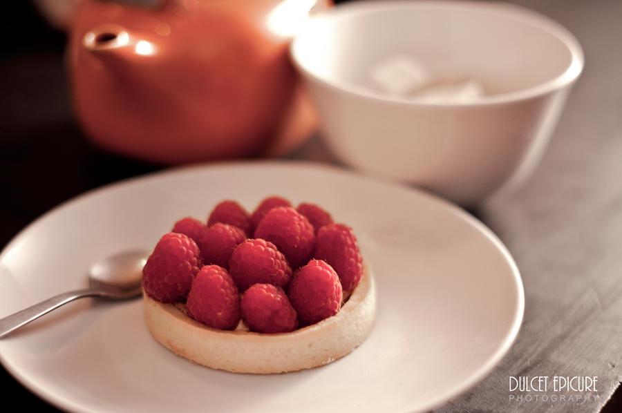 Raspberry Tart by DulcetEpicure