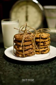 Triple Chocolate Macadamia Cookies