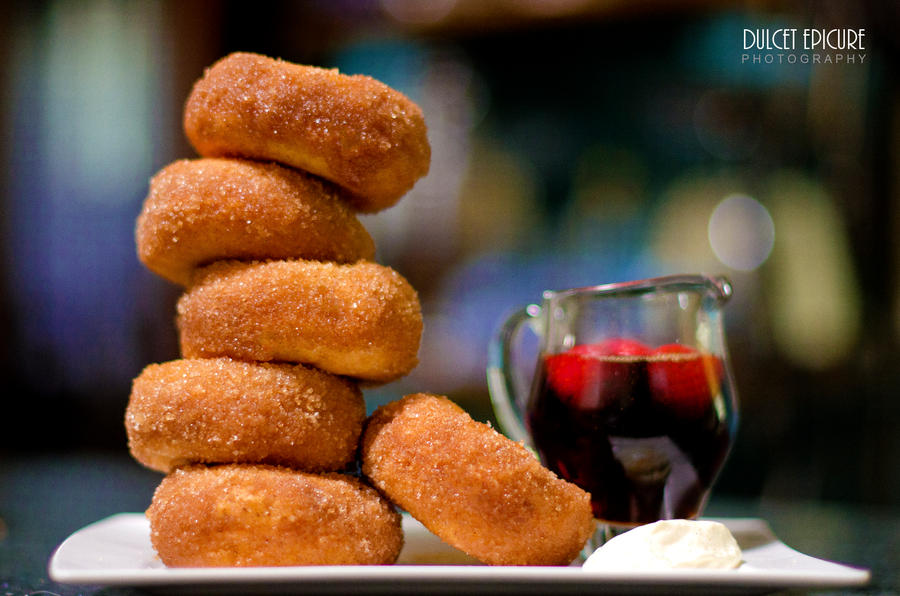 Bomboloni (Italian Doughnuts) by DulcetEpicure