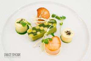 Asparagus Leek Tarine by DulcetEpicure