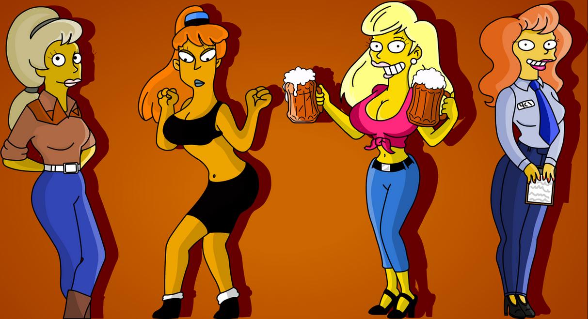 Hot Girls Springfield by esey88 on DeviantArt