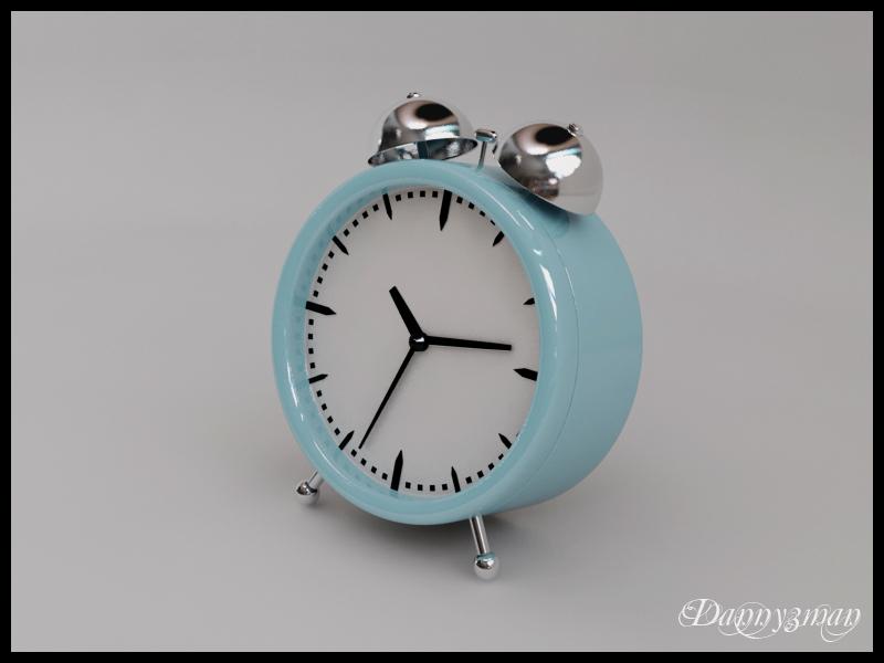 Twin Bell Clock Final by danny3man