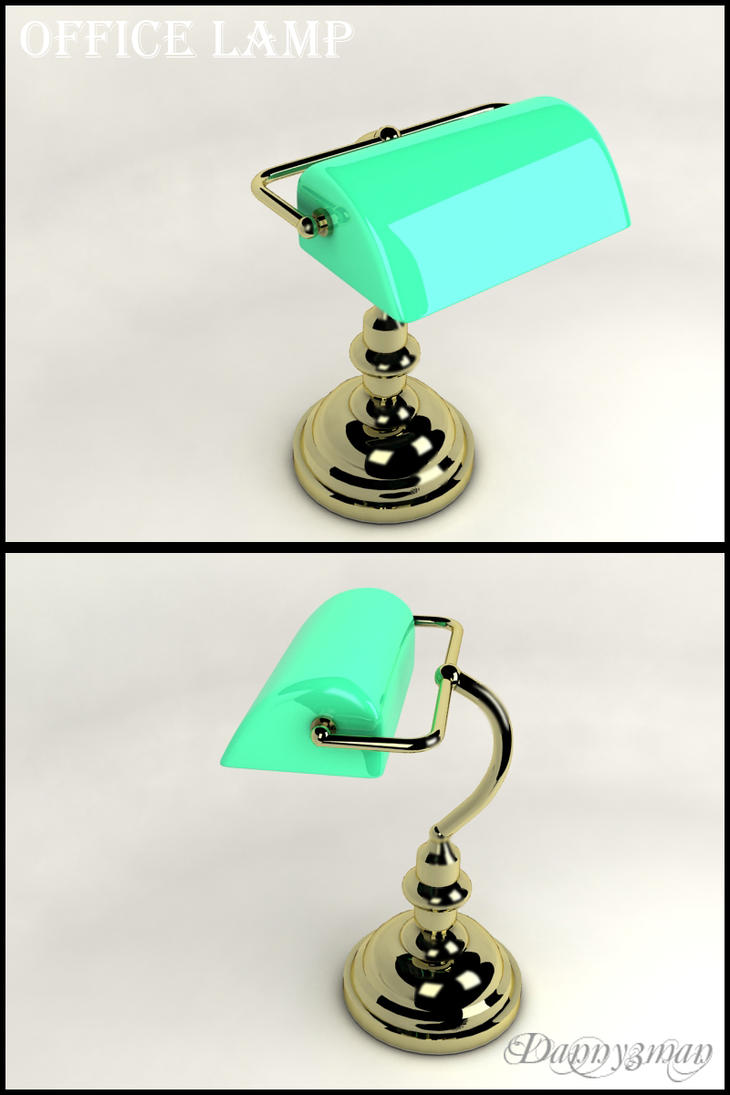 Office Lamp by danny3man