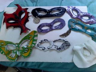 Prom Masks by Amber-EyedSpirit
