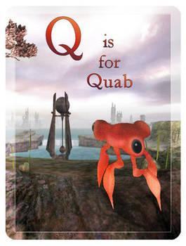 E-Derby: Q is for Quab