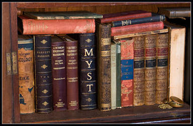 Riumplus: Real Myst Book - Library by Myst-fan-club