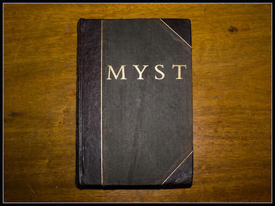 Riumplus: Real Myst Book - front cover by Myst-fan-club