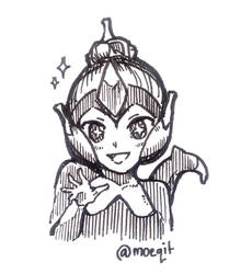 Quick Sketch: Poipole by moeqit