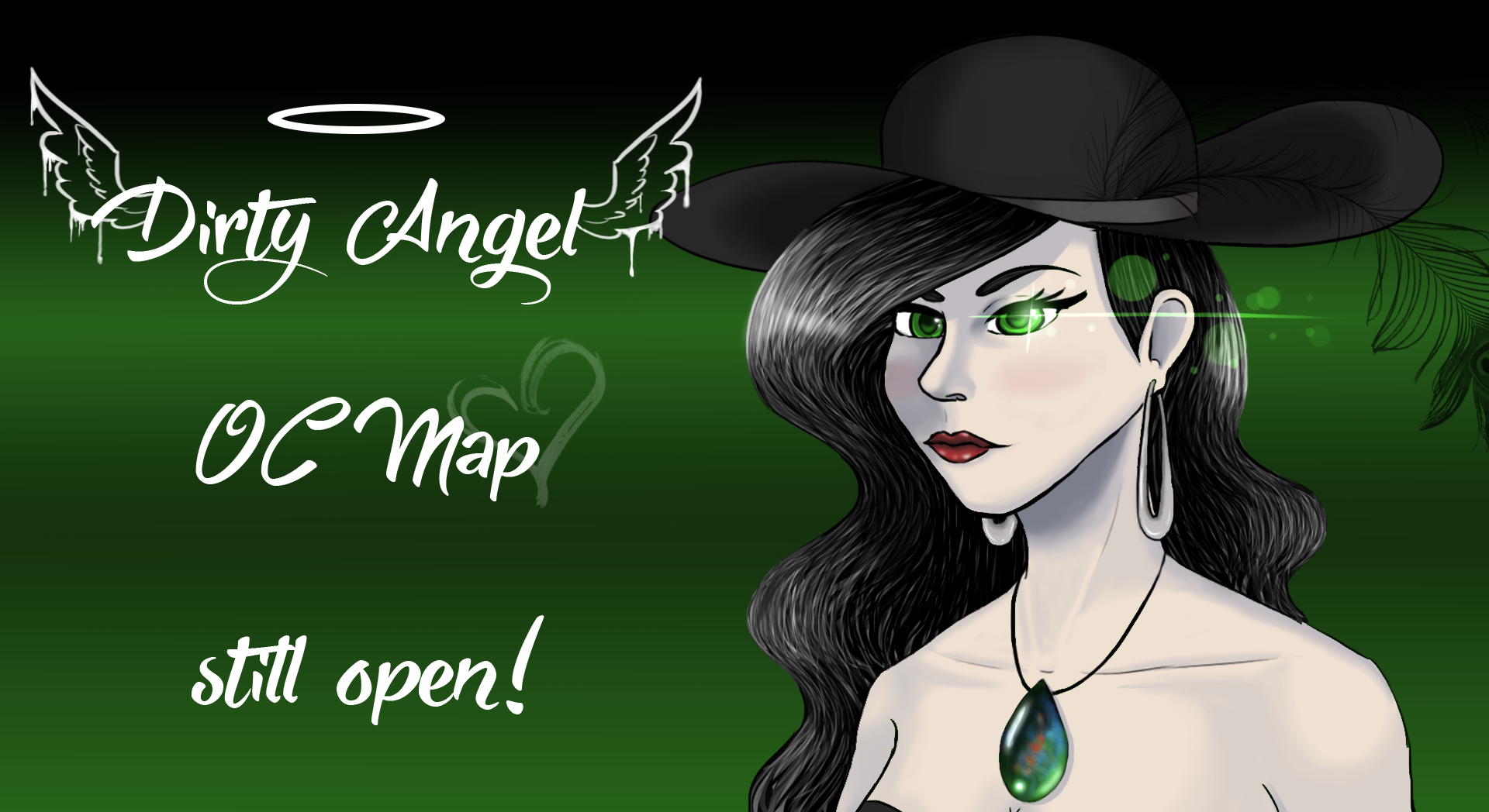 Dirty Angel OC MAP STILL OPEN! by hylidia