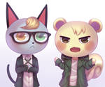 RaymondxMarshal Animal CrossingxDanganropa   CM