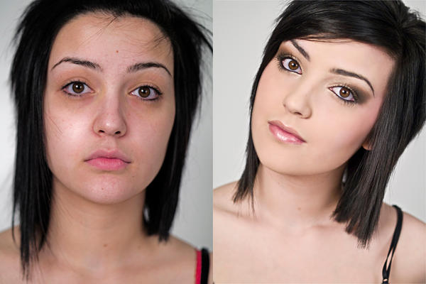 Mac makeup foundation before and after
