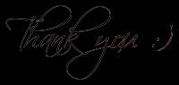 Thank You Handwhriting    F R E E S T U F F By Ast by AmethystRaven-Art