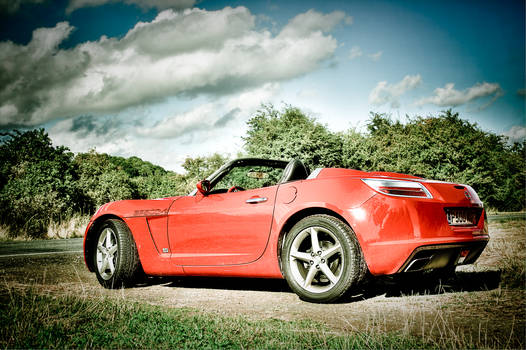 Opel GT in The Malverns