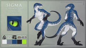 Sigma Reference Sheet by RestrainedRaptor