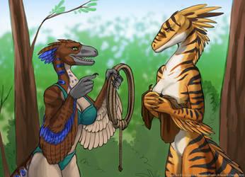 Snapjaw's Tribal Initiation - Page 1/6 by RestrainedRaptor