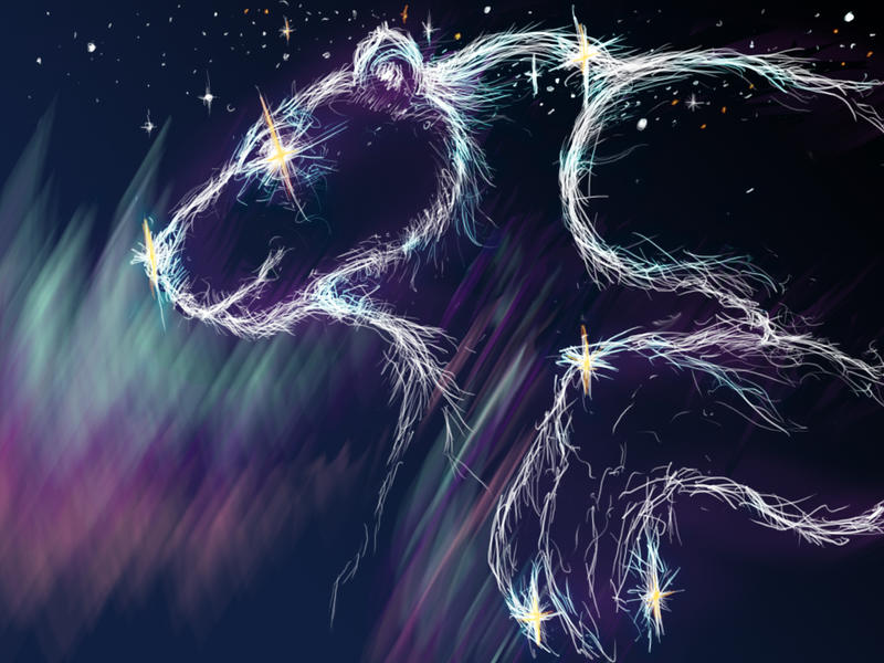 Polar Bear God by Somnovore
