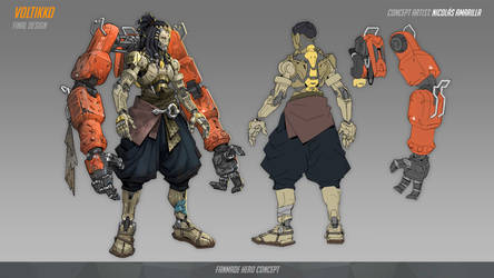 Voltikko | Overwatch Hero Concept by Neexz