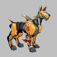 Robot Dog by Neexz