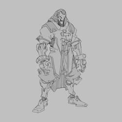 Storm Rising Omnic sketch v2 by Neexz