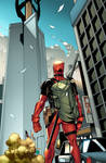 Avengers Tower. Deadpool.