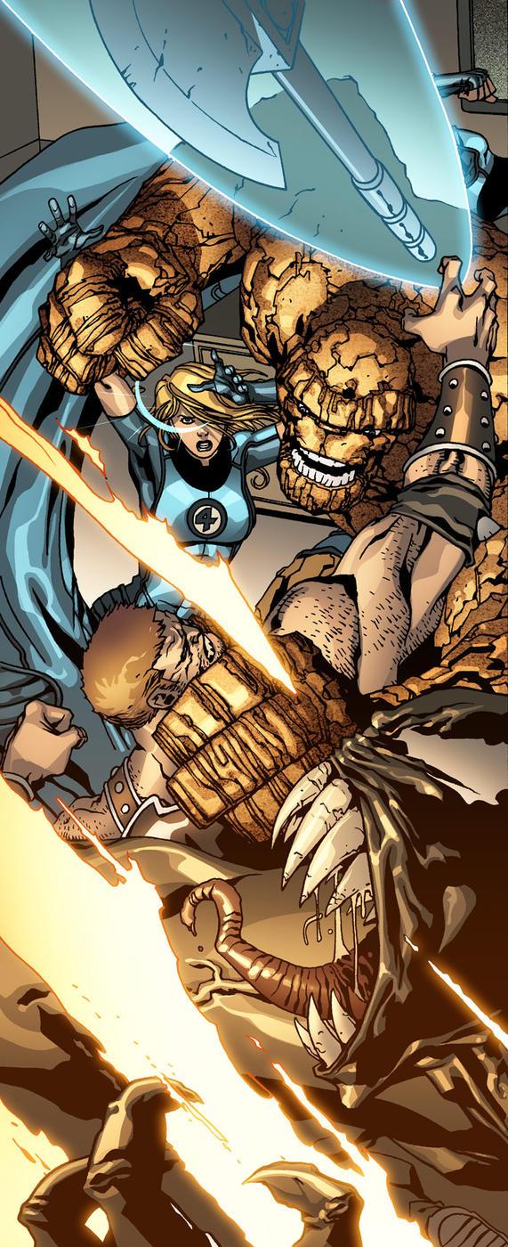 Fantastic Four ATTAK by MarteGracia