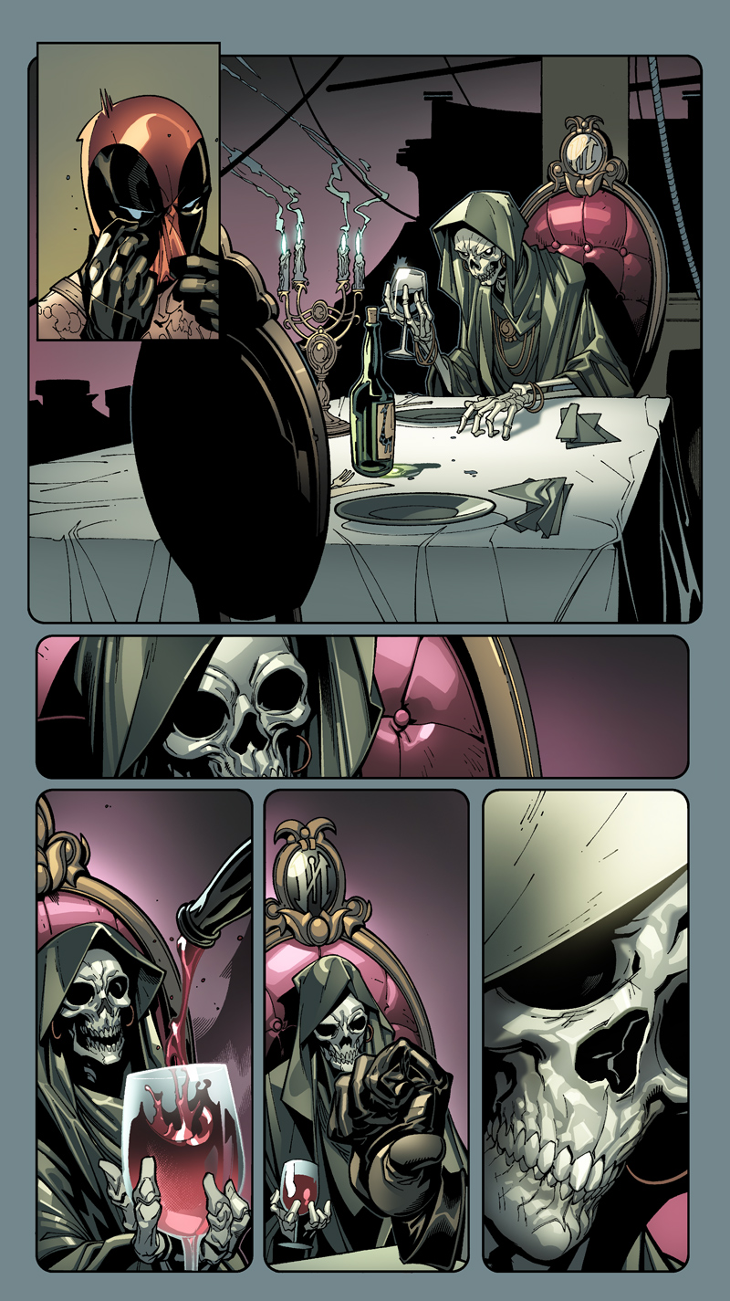 Deadpool + Death by MarteGracia