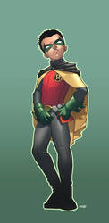 Damian Robin by MarteGracia