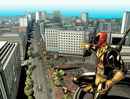Deadpool 19. THE VIEW. by MarteGracia