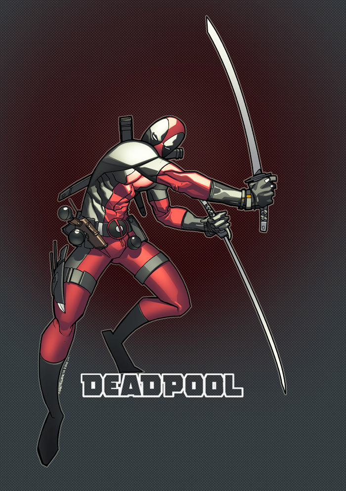 Deadpool Livestream Pic by MarteGracia