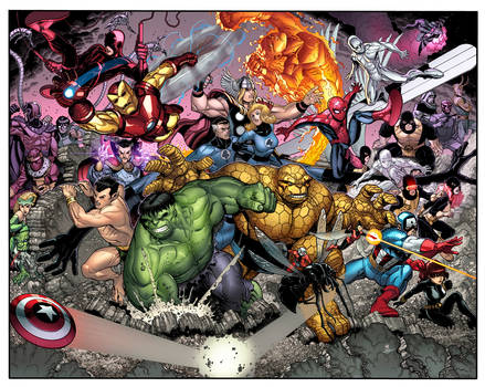 Marvel Point One Cover.